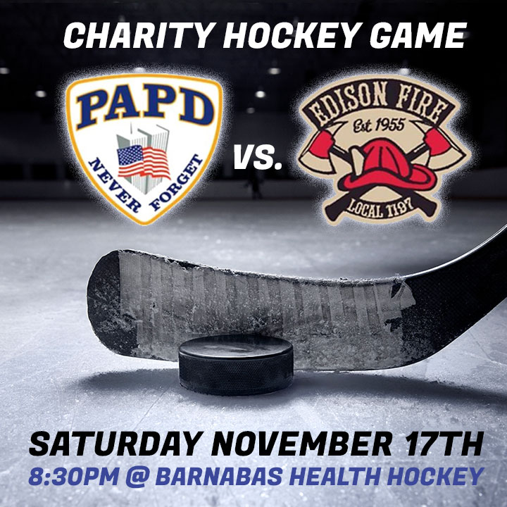 Port Authority Police and Edison Firefighters Charity Hockey Game